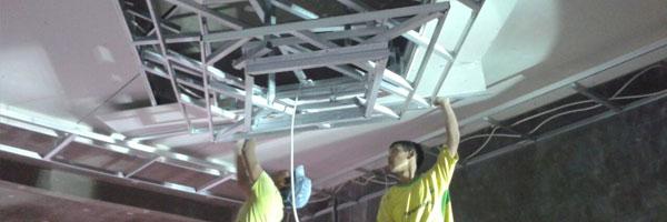 tips dalam memasang plafon gypsum