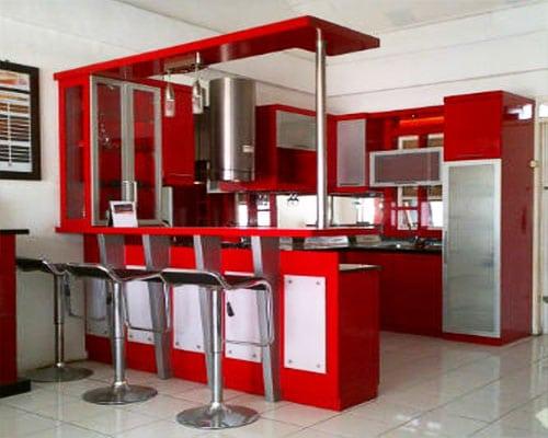 Cara Mudah Menghitung Biaya Kitchen Set Minimalis Mudah
