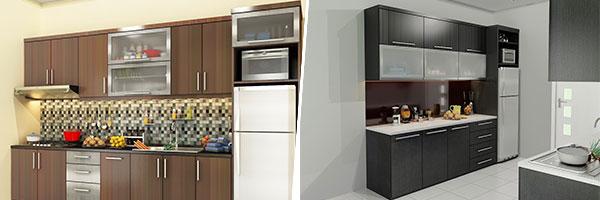 6 Bentuk Desain Kitchen Set Yang Harus Anda Tahu